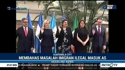 Menteri AS Bertemu Pejabat Amerika Tengah Bahas Imigrasi