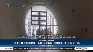Unik, Arsitektur Teater Nasional Taichung Terinspirasi Bentuk Gua