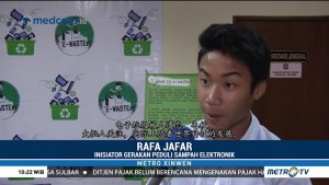 Rafa Jafar Ajak Masyarakat Peduli Sampah Elektronik