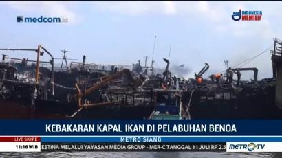 Pendinginan Kapal Ikan di Bali Masih Berlangsung