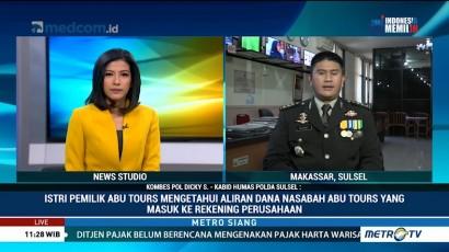 Istri Pemilik Abu Tours Ditetapkan Sebagai Tersangka