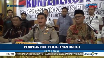 Komisaris Besar PT Abu Tours Ditetapkan Sebagai Tersangka