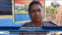 Upaya Bripka Abraham Berantas Buta Aksara di Desa Terpencil