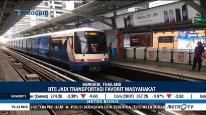 BTS Skytrain, Transportasi Umum Favorit Warga Bangkok