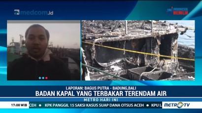 Olah TKP Kebakaran di Pelabuhan Benoa Ditunda