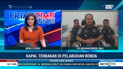 Kepala KSOP Benoa: Kapal yang Terbakar Lebih Banyak Kapal Pasif