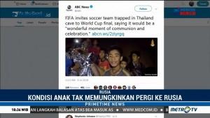 FIFA Undang 12 Anak Thailand Terjebak di Gua Nonton Final PD 2018
