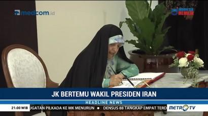 JK Terima Kunjungan Wapres Iran