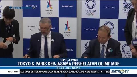 Tokyo dan Paris Teken Kerja Sama Perhelatan Olimpiade