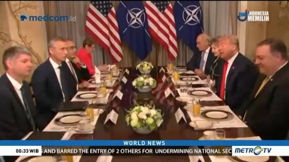 Trump's Testy Exchange With NATO Chief