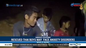 Rescued Thai Boys May Face Anxiety Disorders