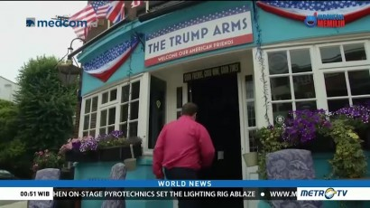 Re-name of A Pub In UK as Support For Trump