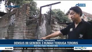 Densus 88 Tangkap Terduga Teroris di Bantul dan Sleman
