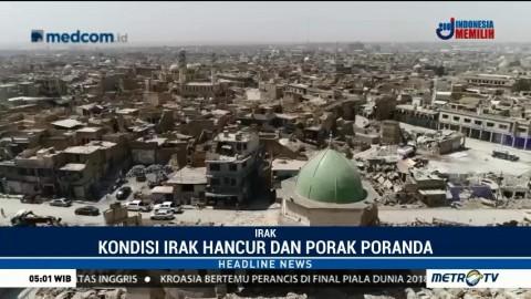 Video Udara Perlihatkan Kondisi Irak yang Hancur dan Porak Poranda