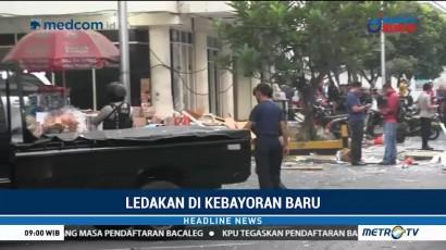 Polisi Periksa Saksi Ledakan di Grand Wijaya