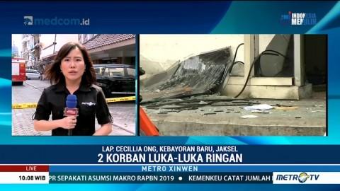 Dua Orang Terluka akibat Ledakan di Grand Wijaya