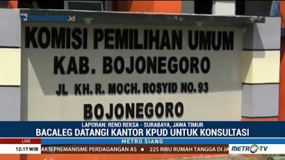 Pendaftaran Bacaleg di KPU Bojonegoro Masih Sepi