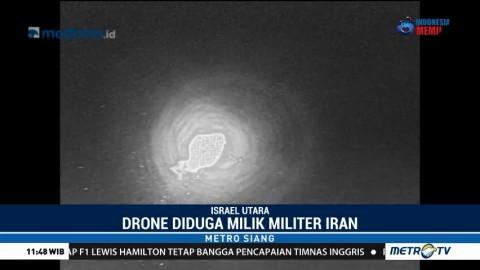 Israel Tembak Drone Diduga Milik Iran