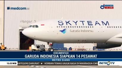 Garuda Indonesia Siap Berangkatkan Jemaah