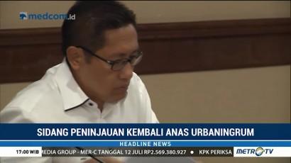 Anas Urbaningrum Jalani Sidang PK di Pengadilan Tipikor
