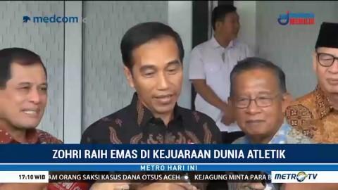 Jokowi Bangga Zohri Jadi Juara Dunia Atletik U-20