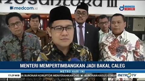 Tiga Menteri dari PKB Dipastikan akan <i>Nyaleg</i>