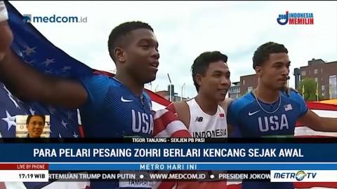 Medali Emas Bukan Target Zohri di Kejuaraan Dunia Atletik U-20