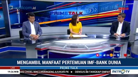 Apa Keuntungan Pertemuan IMF-Bank Dunia bagi Indonesia?