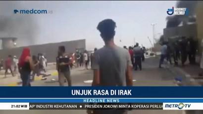 Aksi Protes Terjadi di Ladang Minyak Irak