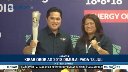 Kirab Obor Asian Games Dimulai 18 Juli