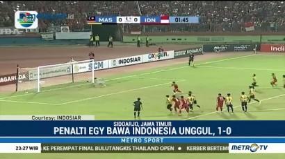 Indonesia Takluk di Tangan Malaysia
