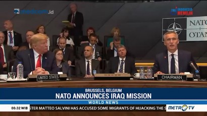 NATO Announces Iraq Mission