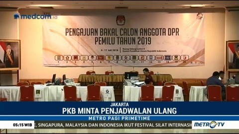 Batal Hadir ke KPU, PKB Minta Jadwal Ulang Pendaftaran Caleg
