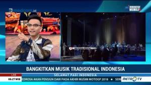 Bangkitkan Musik Tradisional Indonesia (1)
