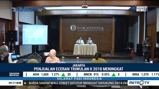 Penjualan Eceran Triwulan II 2018 Meningkat