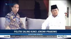Politik Saling Kunci Jokowi dan Prabowo