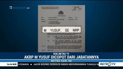 Ini Surat Pencopotan Oknum Polisi yang Aniaya Warga