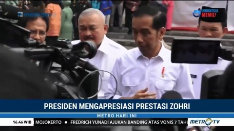Jokowi akan Undang Zohri ke Istana