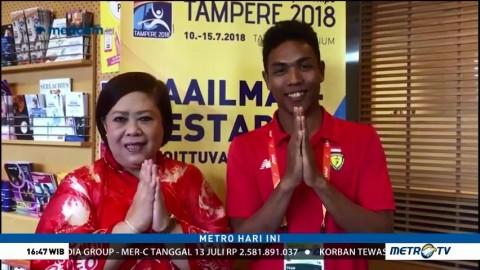 Ucapan Terima Kasih dari Zohri untuk Rakyat Indonesia