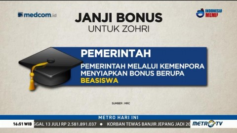 Janji Bonus untuk Zohri