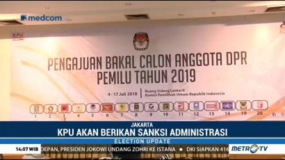 KPU akan Umumkan Nama Mantan Napi Korupsi yang <i>Nyaleg</i>
