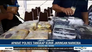 Polres Lampung Selatan Gagalkan Penyelundupan 58 Kg Sabu Jaringan Malaysia