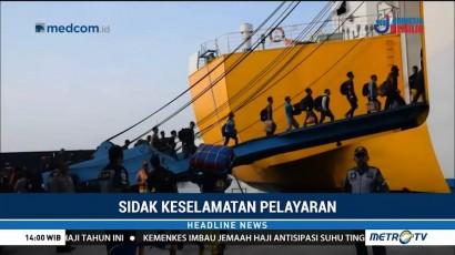 Pelabuhan Kelas I Semarang Sidak Sejumlah Kapal