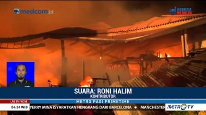 Kebakaran Pasar Induk Gedebage Diduga Akibat Korsleting Listrik