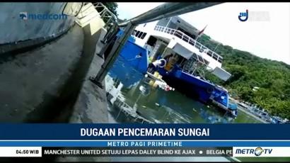 ABK Terekam Buang Sampah ke Sungai Batang Arau
