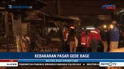 Kebakaran di Pasar Induk Gedebage Berhasil Dipadamkan