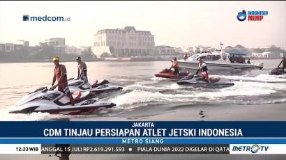 CdM Indonesia Tinjau Kesiapan Atlet Jetski