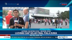 Suasana Stadion Luzhniki Jelang Prancis vs Kroasia