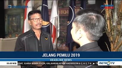 NasDem Targetkan Masuk Tiga Besar di Pemilu 2019