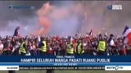 Warga Paris Sambut Meriah Kemenangan Prancis di Piala Dunia